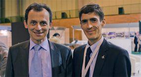 Fernando Villalobos (CEO) & Pedro Duque [2012]